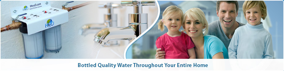 Enjoy bottled quality water throughout your whole home!